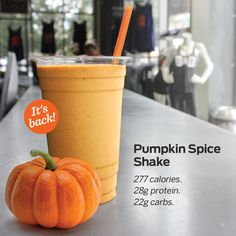 It's the great Pumpkin Protein Shake, Charlie Brawn! | The Intel by Barry's Bootcamp