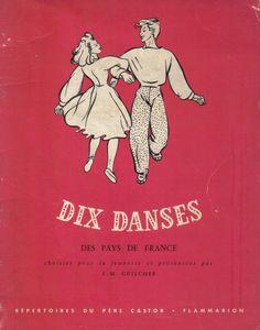 Dix danses des pays de France choisies pour la jeunesse