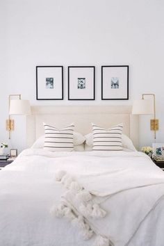Home Decoration Ideas For Christmas Modern Bedroom Design Ideas for a Dreamy Master Suite - jane at home.Home Decoration Ideas For Christmas Modern Bedroom Design Ideas for a Dreamy Master Suite - jane at home Beautiful Bedrooms, Interior, Home Decor Bedroom, Home, Home Bedroom, Minimalist Bedroom, Remodel Bedroom, Interior Design, Small Bedroom Ideas On A Budget
