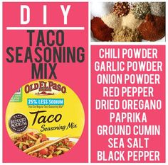 Taco Seasoning Mix | 15 Boxed Food Mixes You Never Have To Buy Again