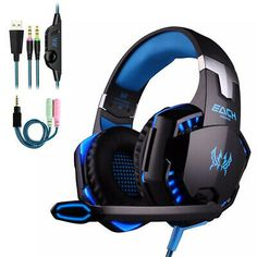 2019 New Headphones Gaming And Music Laptop Pc Computer Wired Headphone Stereo Headset With Microphone Mic Earphone Usb Gaming Microphone, Headphones With Microphone, Headphone With Mic, In Ear Headphones, Pc Gamer, Xbox One, Ps4 Headset, Best Gaming Headset, Best Pc