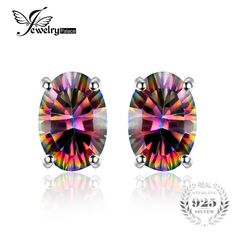 1.5ct Women Fashion Genuine Natural Fire Rainbow Mystic Topaz Earrings Stud Oval Solid 925 Sterling SilverExtraBeautiful.co.za1.5ct Women Fashion Genuine Natural Fire Rainbow Mystic Topaz Earrings Stud Oval Solid 925 Sterling Silver Price: 8.99 & FREE Shipping #fashion|#accessories|#plussize|#extrabeautiful