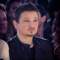Jeremy Renner ... My serious man ...