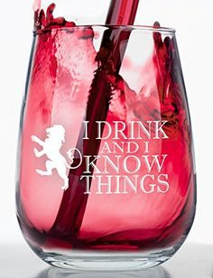Beware of cheap imitations! All of our Make Em Laugh products are made and shipped from the US.  - http://kitchen-dining.bestselleroutlet.net/product-review-for-i-drink-and-i-know-things-stemless-wine-glass-inspired-by-game-of-thrones/