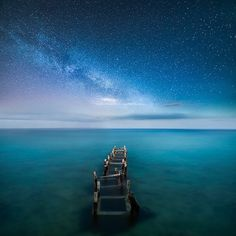 A tranquil night at the coast of Cyprus. | Photography by @mikkolagerstedt #AllAbandoned by allabandoned