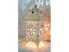 Atlantic Touch Moroccan Lamp, Living Room White, Marrakesh, Lanterns, Lamps, Room Ideas, Touch, Gift Ideas, Lighting