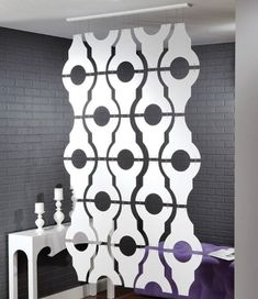 Hanging Fabric Room Divider by iroomdivider