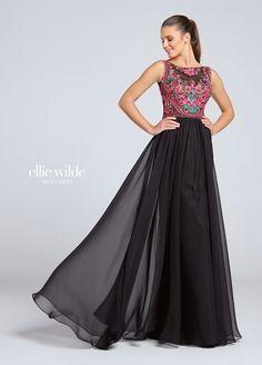 544a2ade4c9 Ellie Wilde by Mon Cheri Chiffon Skirt