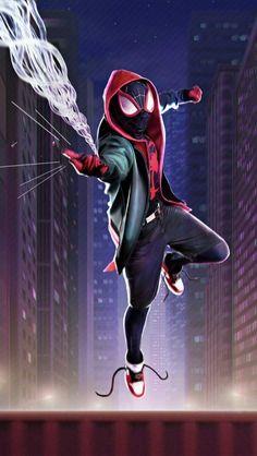 iPhone Wallpapers - Wallpapers for iPhone XS, iPhone XR and iPhone X Marvel Comics, Marvel Comic Universe, Marvel Avengers, Katrina Kaif Hot Pics, Miles Morales Spiderman, Superhero Design, Superhero Room, Spiderman Art, Spider Verse