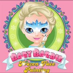 Here you can play Baby Barbie Frozen Face Painting game. Baby Barbie Frozen Face Painting is one of our selected Games For Girls.