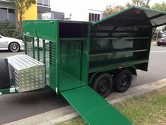 Work Trailer, Cargo Trailer Camper, Trailer Plans, Trailer Build, Utility Trailer, Off Road Trailer, Custom Trailers, Trailers For Sale, Lawn Mower Trailer