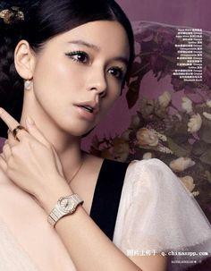 "#VivianHsu #徐若萱 #HarpersBazaarJewellery #芭莎珠宝 #China (February 2010) ""情系""珍珠 | Vivian Hsu (Chinese: 徐若瑄; pinyin: Xú Ruòxuān; Wade–Giles: Hsu Jo-hsüan; Pe̍h-ōe-jī: Chhî Jio̍k-soan; Japanese: ビビアン・スー Bibian Sū born March 19, 1975) is a Taiwanese singer, actress, and model."