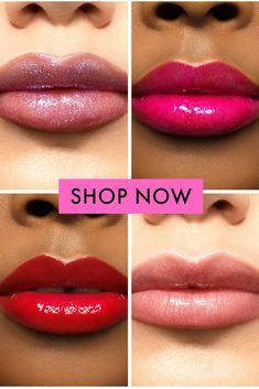 New Lipstick Colour Lipsense Lip Colors, Lip Gloss Colors, Lip Sence Colors, Stila Cosmetics, Long Hair Tips, Glossy Hair, Lip Palette, Best Lipsticks, Kissable Lips