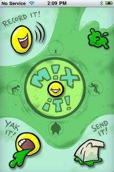 Yakety Yak ($0.00) Have a blast making recordings with Yakety Yak! Make them slow or fast, tiny or BIG, or play with the silly sound effects. Hold it up to a phone to leave funny messages on friends' message machines.  Say It! Play it! Yak it!  Includes 2 sample Yaks you can play with.