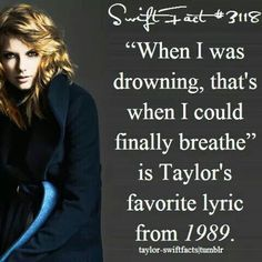 Image via We Heart It https://weheartit.com/entry/159628224 #1989 #fact #TaylorSwift