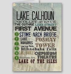 Minneapolis landmarks card  #minneapolis #marriottmwest #lakes #leisure
