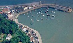 Minehead harbour.