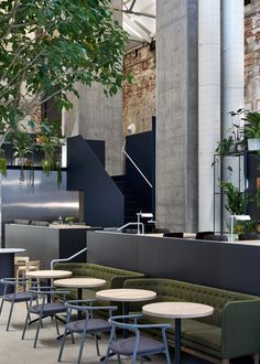 Australia's best designed bars, cafes and restaurant have been revealed. Adelaide bar Pink Moon Saloon took out two awards, and best cafe, restaurant and retail design went to Melbourne. Australian Interior Design, Interior Design Awards, Australian Architecture, Design Commercial, Commercial Interiors, Restaurant Design, Restaurant Interiors, Luxury Restaurant, Vintage Restaurant