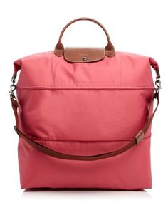Online Cheap Portable Longchamp LM Handbags MistyRose \u0026middot; Longchamp \\u0026#39;Le Pliage\\u0026#39; Expandable Travel Bag