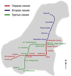 O #Metrô de #Almaty (Алматы метрополитені) foi inaugurado recentemente e é o segundo sistema de metrô na Ásia Central, atrás do metrô de Tashkent, no Uzbequistão, e da décima sexta linha de metrô das repúblicas ex-soviéticas.