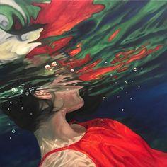 Painting Inspiration, Art Inspo, Underwater Painting, Water Art, A Level Art, Arte Popular, Art Portfolio, Aesthetic Art, Oeuvre D'art