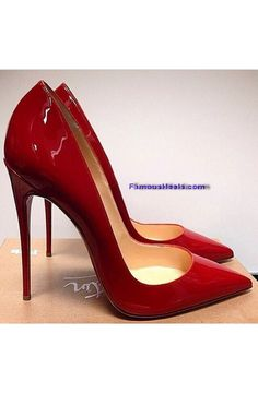 Christian Louboutin So Kate 120mm red