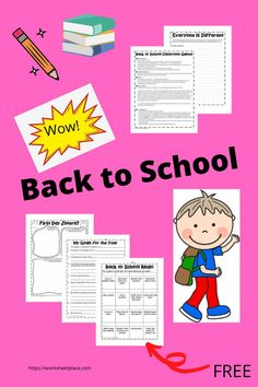 Going back to school after the summer off is difficult for both students and teachers. Why not start the first week off with some fun activities? These free resources are suitable for all ages. They are great ways to get to know students and help them overcome those first jittery days. Classroom Games, School Classroom, First Day Jitters, Back To School Activities, Fun Activities, Going Back To School, Bingo, Some Fun, Student