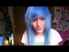 ▶ how I do my fringe/bangs. - YouTube