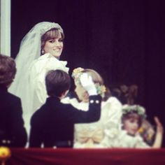 July 29, 1981: Lady Diana Spencer marries Prince Charles at St. Paul's Cathedral.  Photo taken by @princess_diana_remembered on Instagram, pinned via the InstaPin iOS App! (10/14/2014)