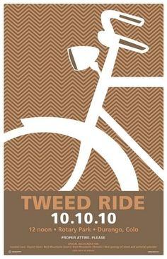 Durango Tweed ride poster   Flickr Photo Sharing!