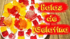 COMO FAZER BALAS DE GELATINA - How to do gelatin bullet