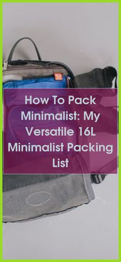 For lots of, traveling light can be daunting initially, but then it's liberating. Read these ideas and techniques for successfully pulling off this pa... Minimalist Packing, Frame Of Mind, Minimalist Home Decor, Pull Off, Travel Light, Traveling, Life, Ideas, Viajes