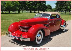 1936 Cord 810 by sjb4photos, via Flickr
