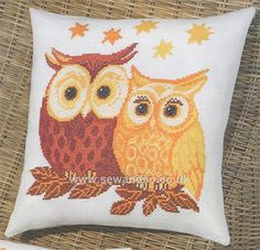 Shop online for Red and Yellow Owls Cushion Front Cross Stitch Kit at sewandso.co.uk. Browse our great range of cross stitch and needlecraft products, in stock, with great prices and fast delivery.