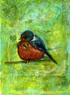 Fat little birdie ♥