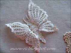 Zie het patroontje voor deze mooie vlinder.