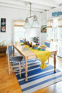Cottage style is at its best when it's as lighthearted as it is cozy. Take this dining room, in a Victorian-era house near the shore in Massachusetts. It is a cheery room perfect for relaxing with friends and family