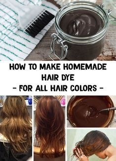 Homemade Hair Dye For Brown And Black Hair In Order To Maintain Your Dark Hair Color I Present You Homemade Hair Dye Homemade Hair Products Dyed Natural Hair