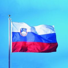 Soccer Nation Flag SLOVENIA (3ft x 5ft, 150x90cm)