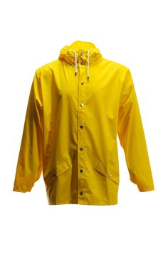 Jacket - Yellow | RAINS | Rainwear | Modern Danish Design