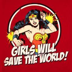 Logoshirt Wonder Woman Girlie Comic Shirt