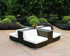 Modern Outdoor Contemporary Furniture 42 Modern Outdoor sofa Sets Wood Furnishings Care Dusting and Cleaning Diy Outdoor thesofa 4 Outdoor Sofa Sets, Modern Outdoor Sofas, Outdoor Seating, Outdoor Ideas, Modern Patio, Outdoor Lounge, Patio Ideas, Backyard Ideas, Outdoor Living