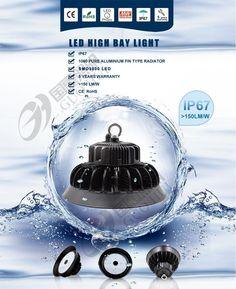 IP67 LED High bay light 150LM/W,5Years warranty