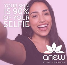 Get your Anew Skin and your own Anew Selfie by making an appointment for a free #Anew consultation today!