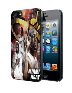 Miami Heat Big Three B Samsung Galaxy S3 S4 S5 S6 S6 Edge (Mini) Note 2 4 , LG G2 G3, HTC One X S M7 M8 M9 ,Sony Experia Z1 Z2 Case