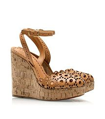love these!  i hope she does them in black.  Tory Burch Verity Wedge Sandal