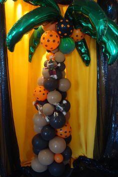Halloween Balloons  www.partyfiestadecor.com