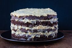 german chocolate cake | the merry gourmet