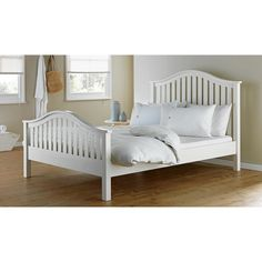 Buy Collection Newbridge Double Bed Frame - White at Argos.co.uk - Your Online Shop for Bed frames, Beds, Bedroom furniture, Home and garden.