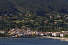Pueblo de Cedeira, La Coruña. Galicia, España